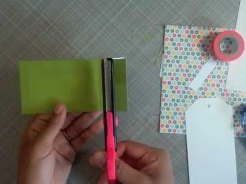 tutorial // patterned paper envelope (Studio Calico)