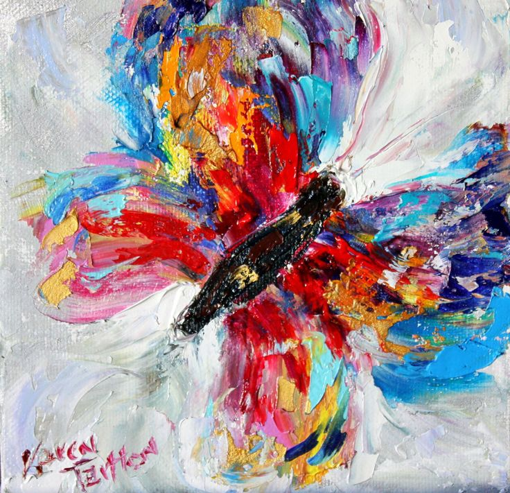 Butterfly canvas print on canvas made from image of Original painting by Karen Tarlton by Karensfineart on Etsy https://www.etsy.com/listing/260975693/butterfly-canvas-print-on-canvas-made