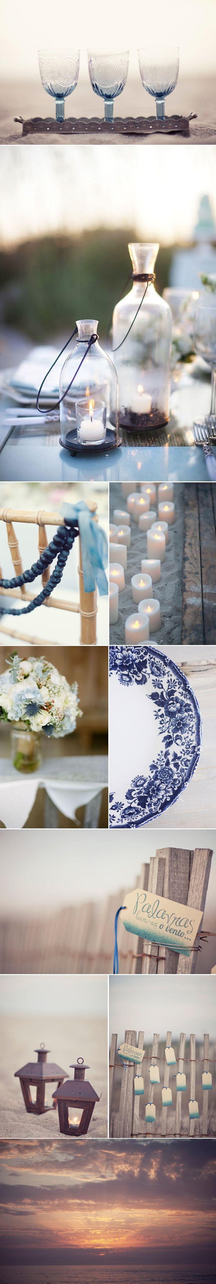 montage decoration mariage bord de mer