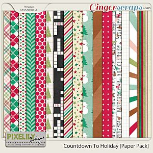 Countdown To Holiday [Paper Pack]