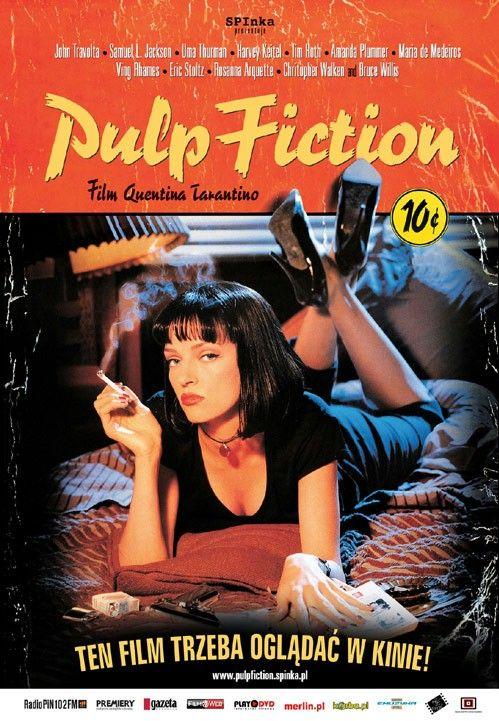 Pulp Fiction, 1994 plakat