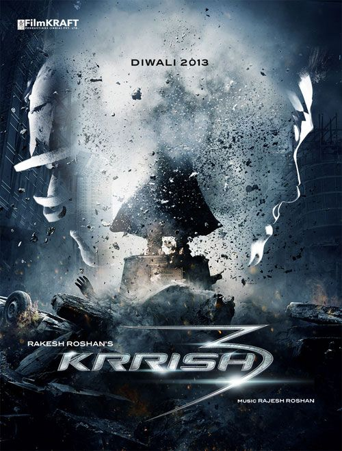 'Krrish 3' poster #Bollywood #Movies