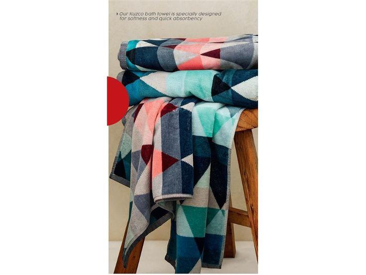 Kuzco Pattern Bath Towels