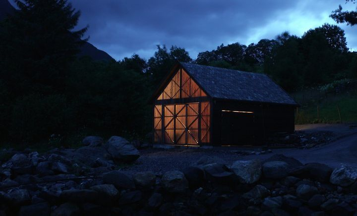 Boathouse in Haddal by NTNU