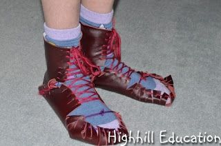 : Make Your Own Roman Shoes