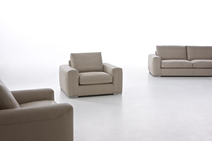 poltrona e divano in pelle Charles - Tino Mariani http://www.tinomariani.it/prodotti/charles.html