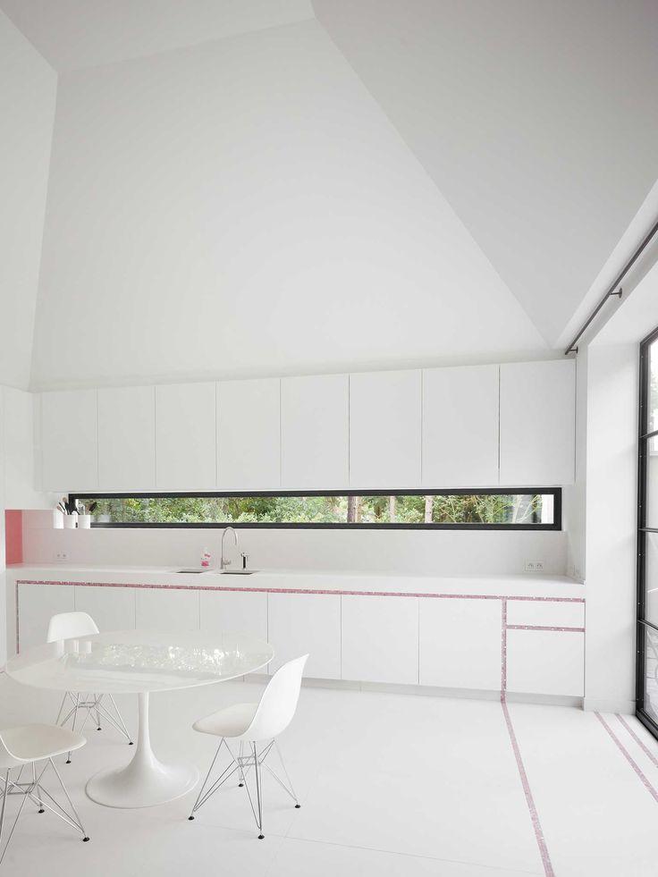 Obumex Bespoke Kitchen Minimalistic White Design Furniture Obumex Interior Pinterest