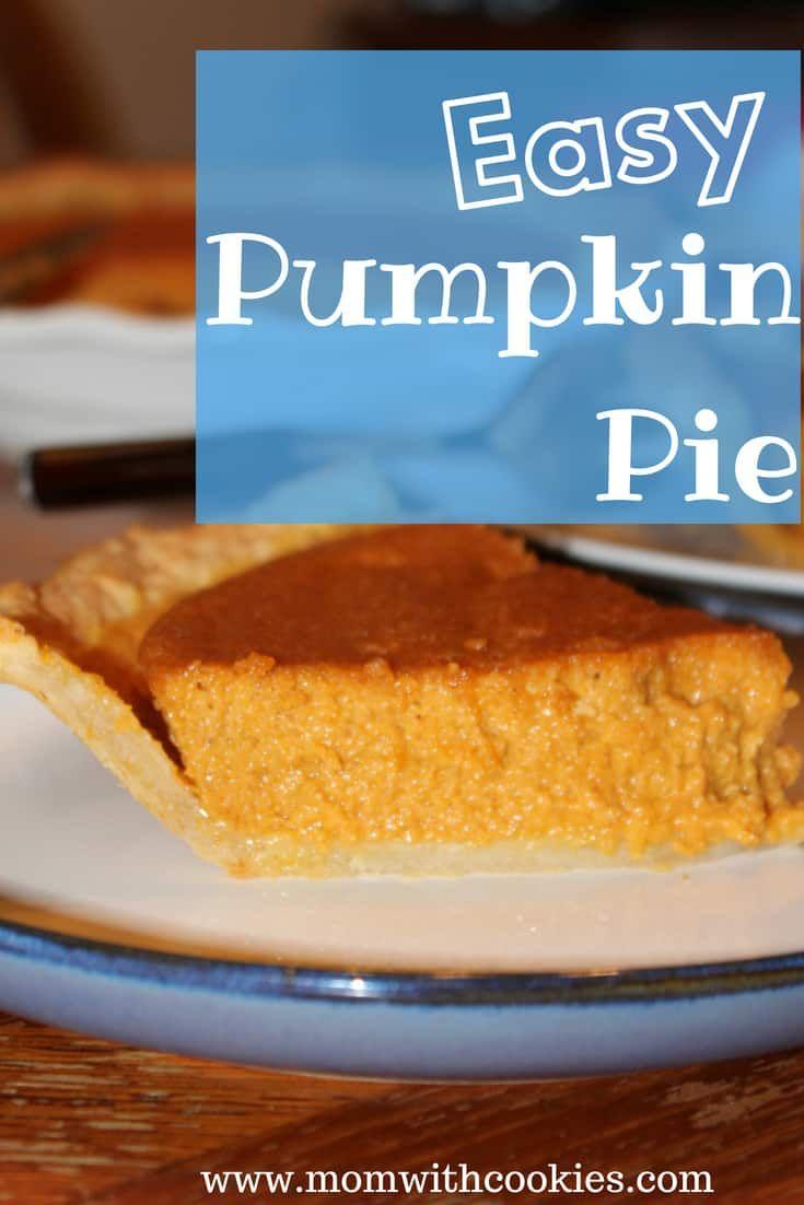 An Easy Pumpkin Pie Recipe That You Can Make Without Evaporated Milk Pumpkin Pie Recipe Without Evaporated Milk Yummy Pie Recipes Pumpkin Recipes