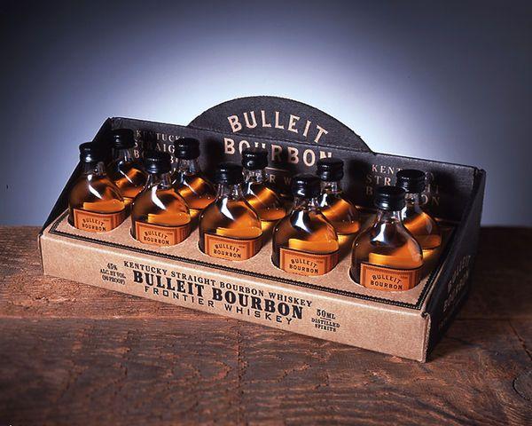 Vintage Aged Whiskey Displays : bulliet bourbon whiskey