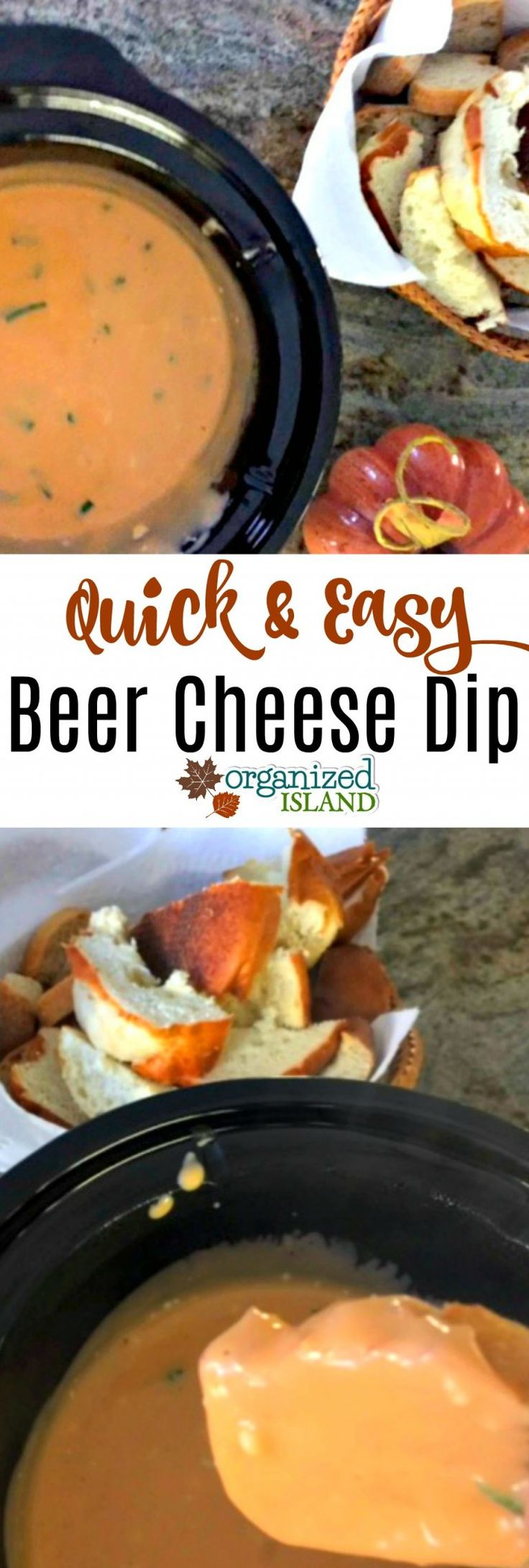 A tasty Beer Cheese Dip Recipe that is a perfect appetizer for game day or tailg…