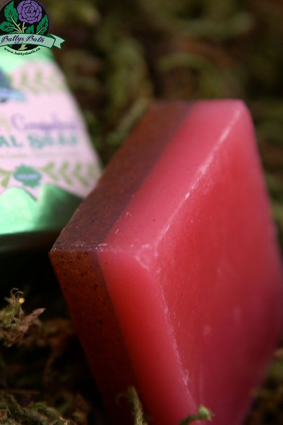 Patchouli and Grapefruit Essential Oil Facial Soap by battysbath, $5.00