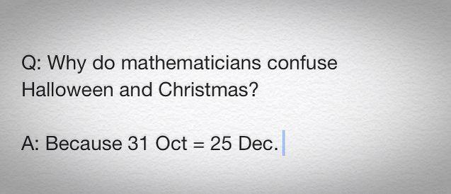 ull get it when u get it :)))  31 Oct = 25 Dec = 25   ✌️