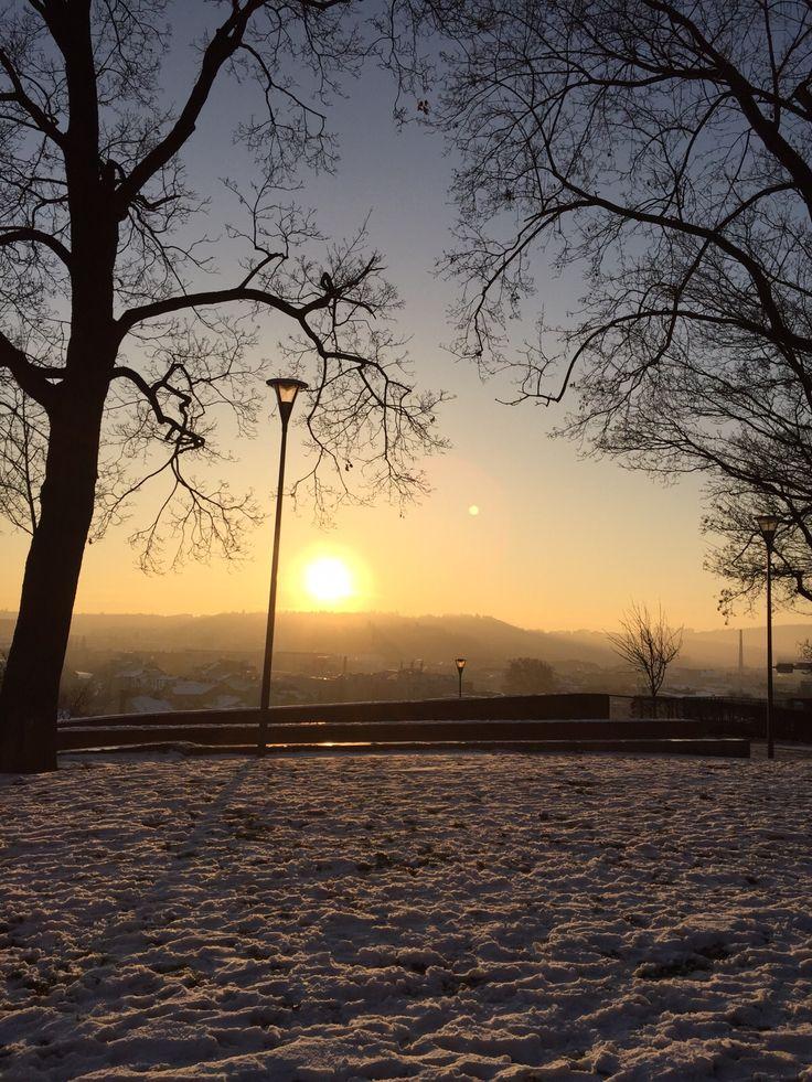 Brno sunset - Petrov