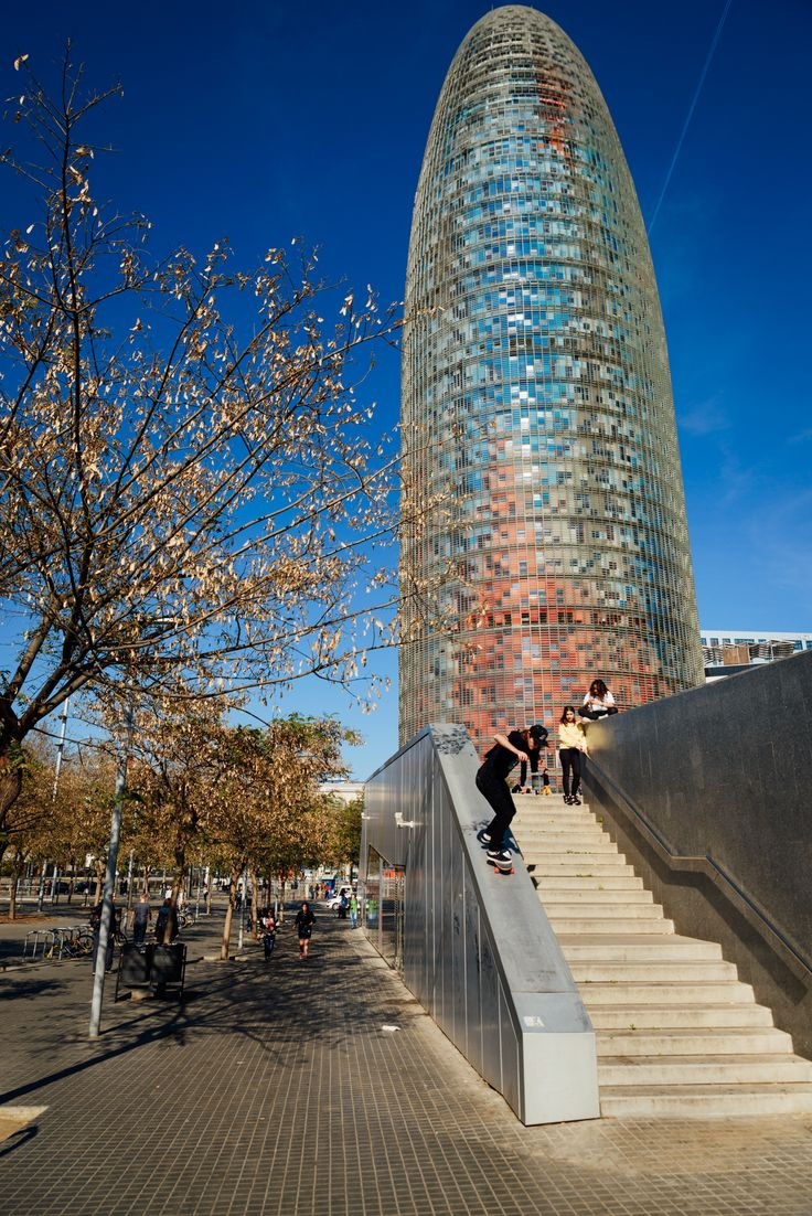 Conquering Torre Agbar!