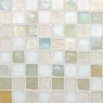 Oceanside Glasstile, Tessera Mosaic Blends traditional-bath-products