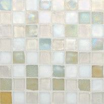 Oceanside Glasstile, Tessera Mosaic Blends traditional-bath-products