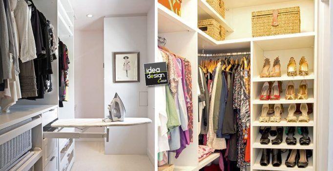 organizzare una cabina armadio in un piccolo appartamento! 20 idee...