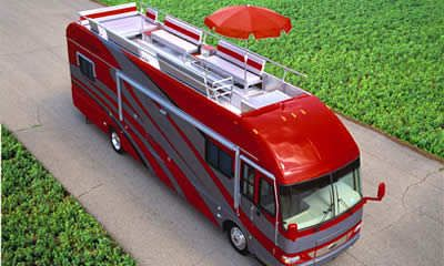 18 best images about rv roof deck on pinterest to heaven for Rv with roof deck
