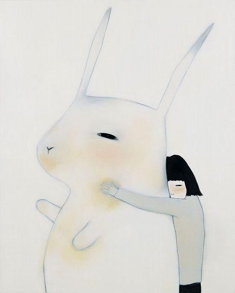 ♞ Artful Animals ♞ bird, dog, cat, fish, bunny and animal paintings