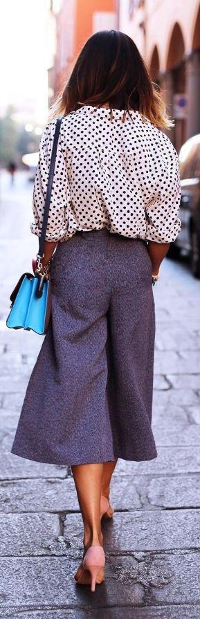 impressive gaucho pants outfit 10