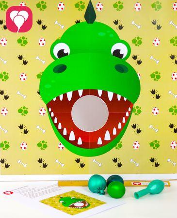 Dino Spiel für den Kindergeburtstag – balloonasBlog – Tanja Reiter