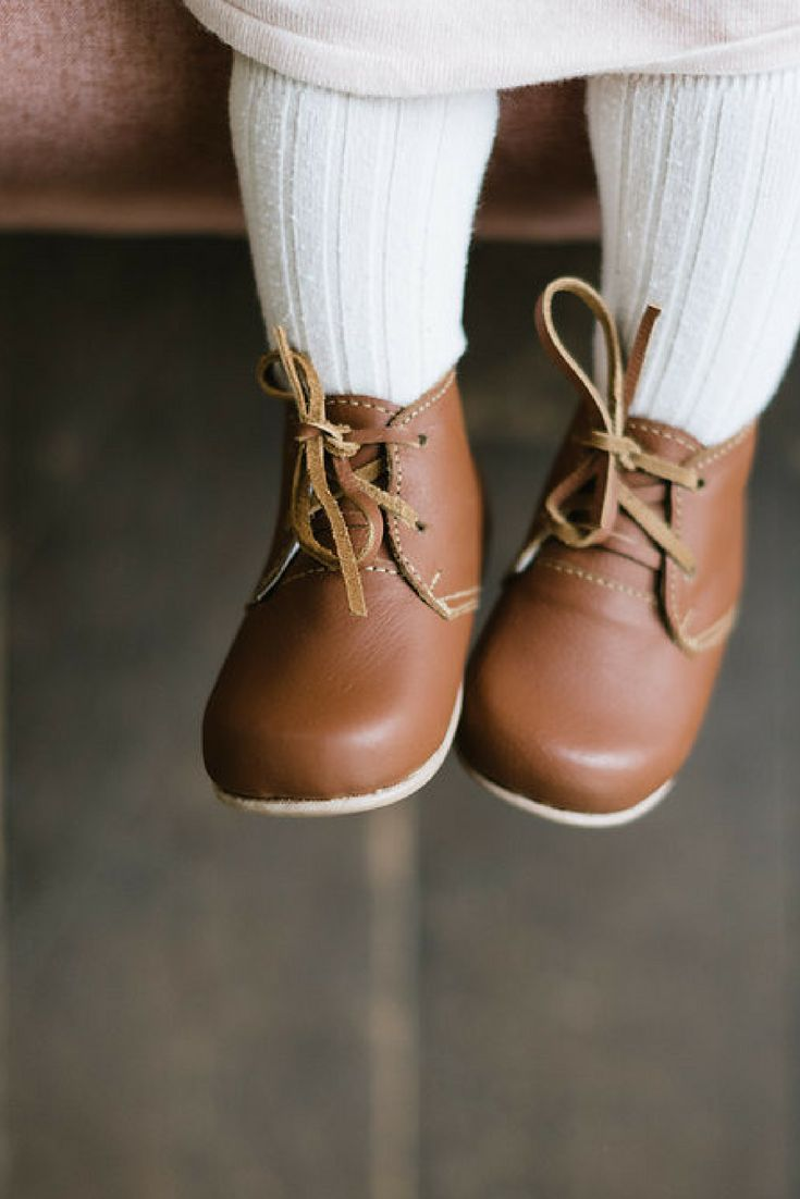 Ticuantepe {Children's Pebbled Leather Boots}