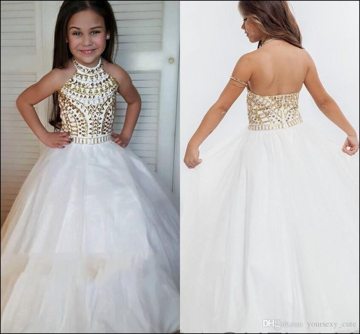 Lil Girl Pageant Dresses