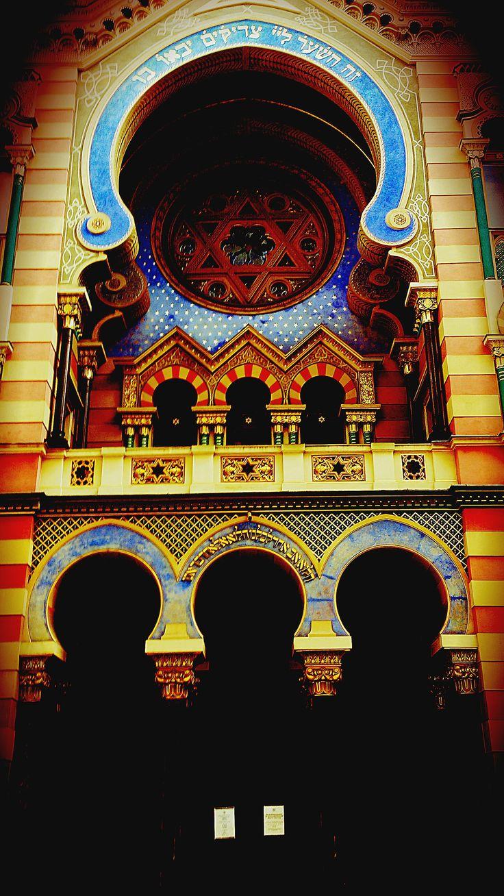 Jubilee/Jerusalem Synagogue, Prague. #Prague #synagogue #jewsih #jerusalem #photography #travel #architecture