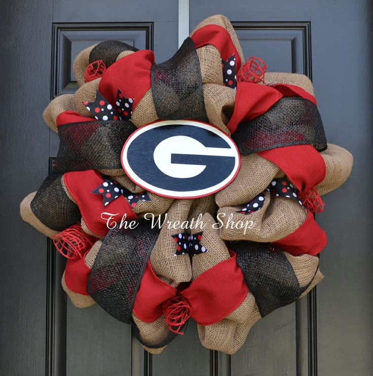 University of Georgia Wreath - Georgia Bulldogs Wreath