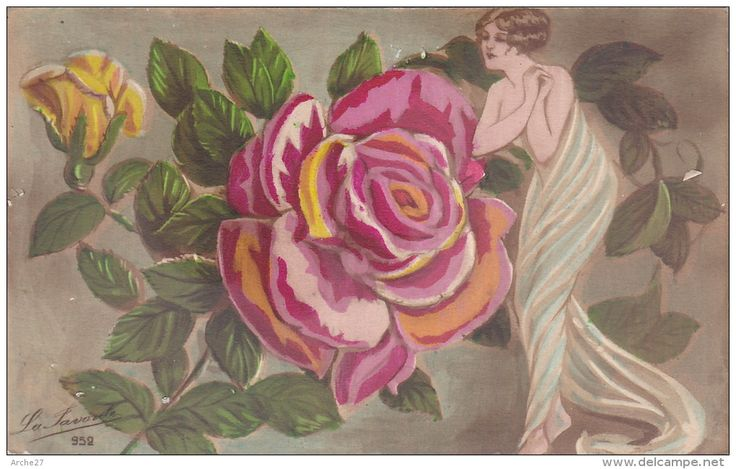 Postkaarten > Thema's > Fantasie > Vrouwen / art nouveau - Delcampe.net