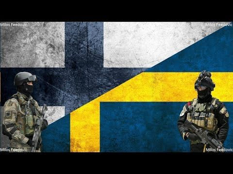 Swedish armed forces vs finnish armed forces comparison hd