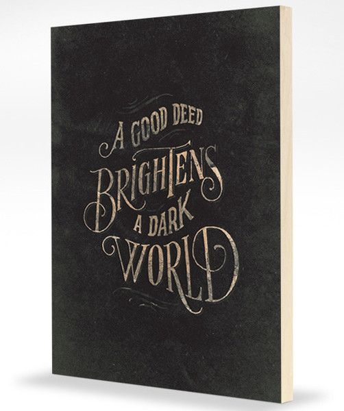 Good Deeds by @Jon Contino for Help Ink