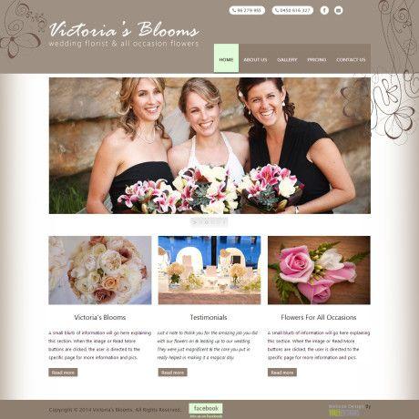 Victories Bloom Website Design