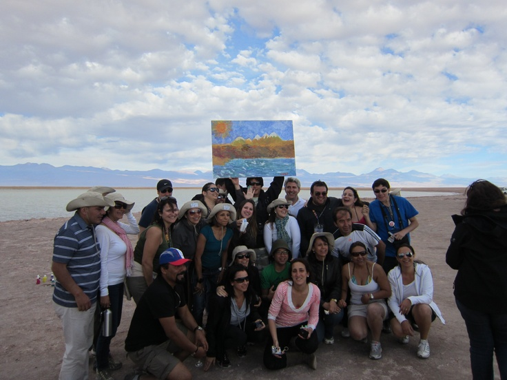 Another finished work of art. San Pedro de Atacama, Chile. Photo by CD
