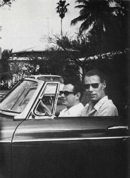 Brian Epstein & George Martin