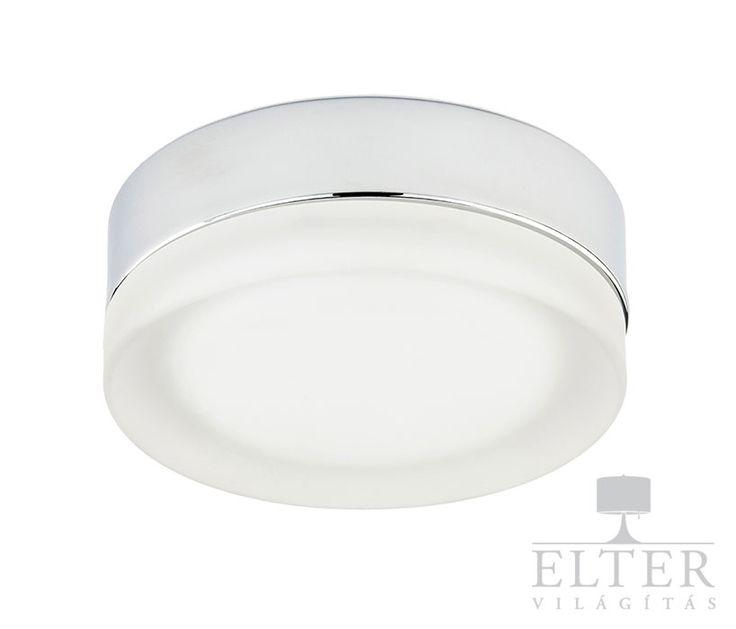 Lámpatípusok - Beltéri világítás - Fali lámpa - Alfa Pori chrom fali lámpa