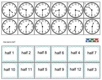 Wiskunde - Mini Loco - Klok