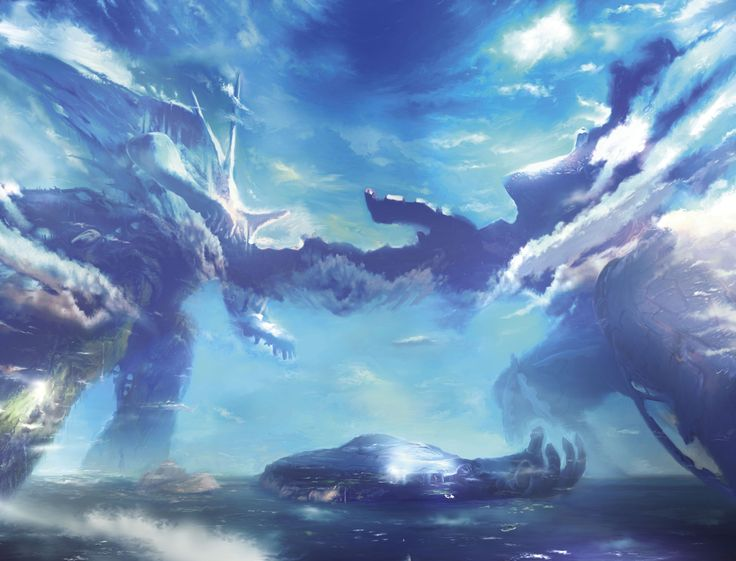 Xenoblade Chronicles - Bionis and Mechonis