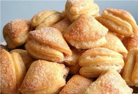 Фото к рецепту: Творожное печенье на маргарине