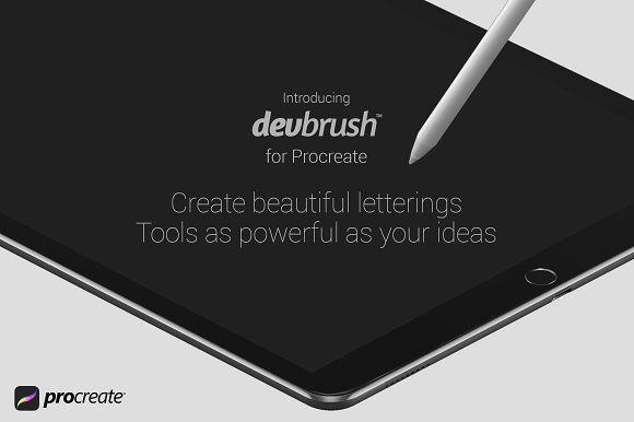 DevBrush™ for Procreate by Alif Devan R. on @creativemarket