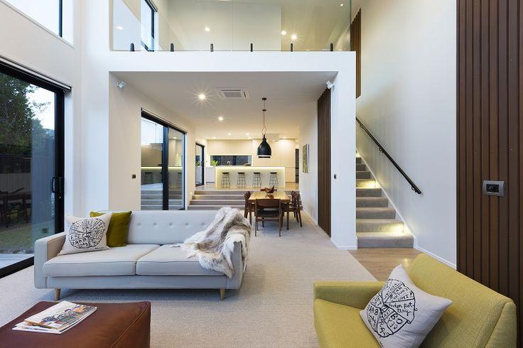Contemporary Living Interior design for a new home where long term good taste and style meet contemporary living.
