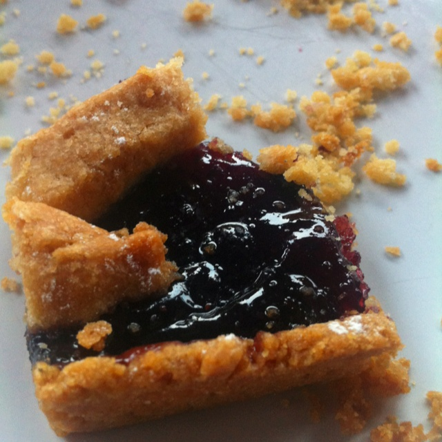 Blueberry pie; #we<3berries