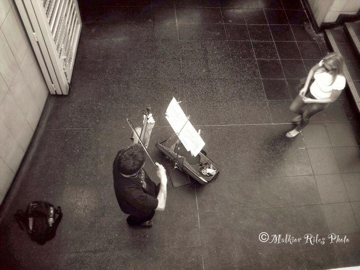 Malkior Riles Photographs: El Violinista