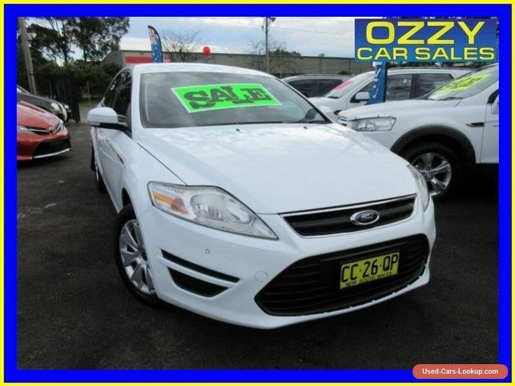 2012 Ford Mondeo MC LX Tdci White Automatic 6sp A Hatchback #ford #mondeo #forsale #australia