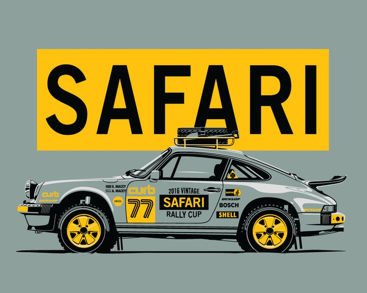 Porsche's participation in rally racing is often overlooked, but there is a rich history of 911's competing on tarmac, dirt, and snow dating back to the 1960's. In the mid 80's the factory team even m