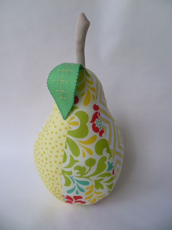 Pear door stop