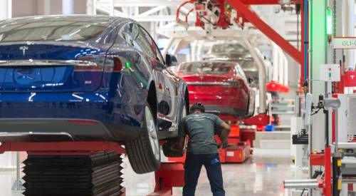 Tesla levert recordaantal auto's in eerste kwartaal dit jaar