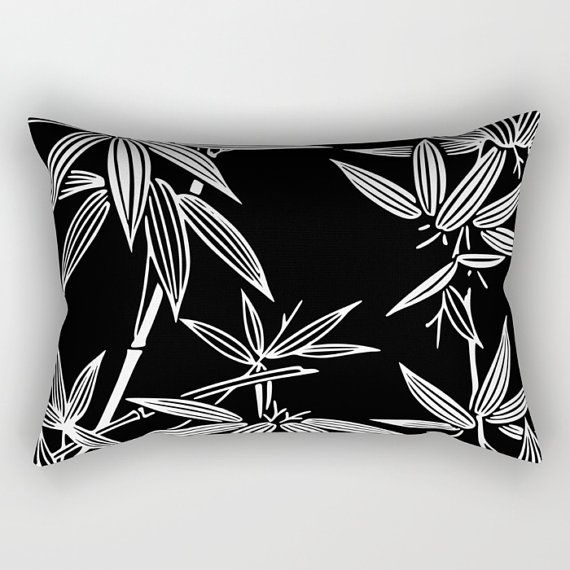 Cuscino stampa kimono bambù Design tropicale buttare