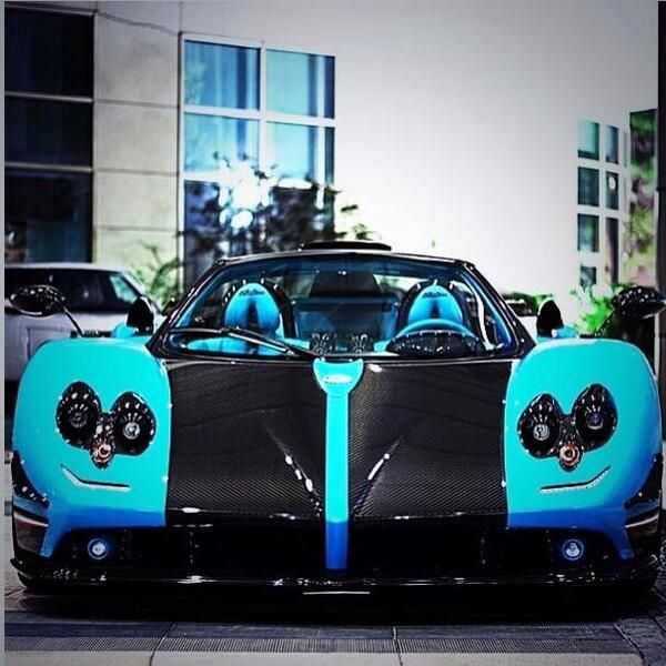 Sensational Pagani Zonda Uno If Only It Wasnu0027t Blue, Not My Taste However  The Car Is