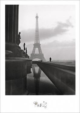 Eiffel Tower, 1947 Maurice TABARD